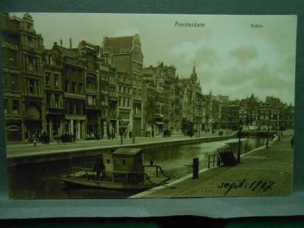 Amsterdam, Rokin -Strassenpartie/XXVII-149/