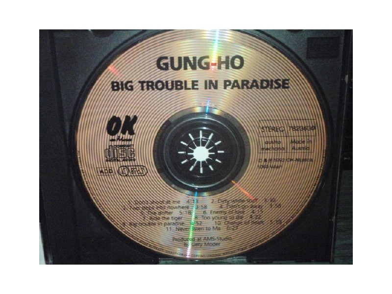 BIG TROUBLE IN PARADISE