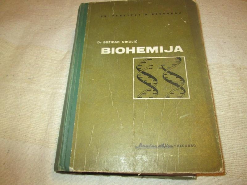 BIOHEMIJA - Bozidar Nikolic