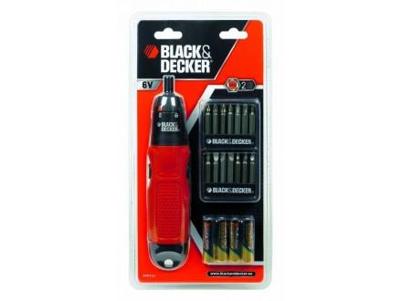 ..BLACK I DECKER BATERIJSKI SRAFCIGER U BLISTERU 6 v