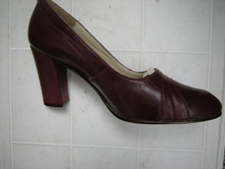 Braon kozne cipele br.36