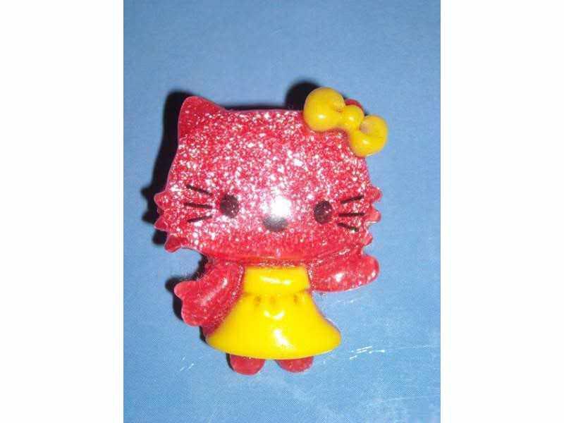 Broš Hello Kitty - crveni