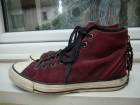 `CONVERSE` ALL STAR DUBOKE KOŽNE BORDO PATIKE