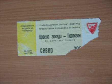 ,, CRVENA ZVEZDA- PARTIZAN,,- 1992