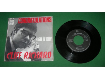 Cliff Richard ‎– Congratulations