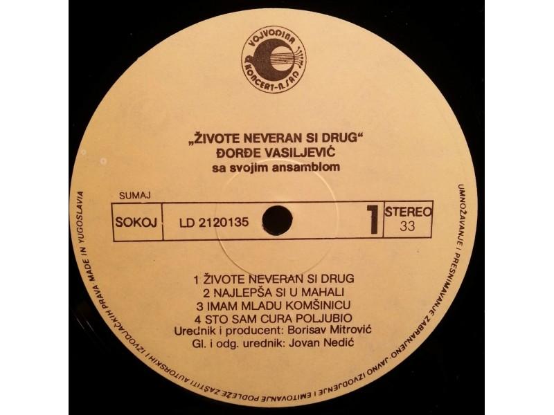 DJORDJE VASILJEVIC-ZIVOTE,NEVERAN SI DRUG - LP