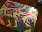 Drvena,edukativna slagalica-igra- drzi paznju