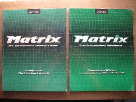 Engleski Matrix Pre-intermediate komplet