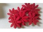 *F546--Filc cvet ,crveno,25mm / kom