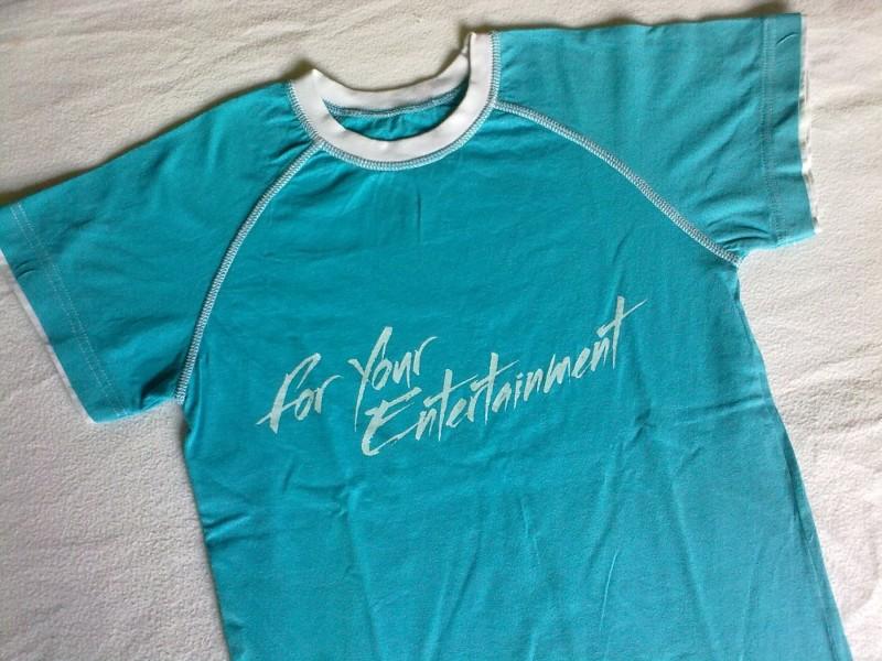 **For Your Entertainment** fantasticna majica, vel.8