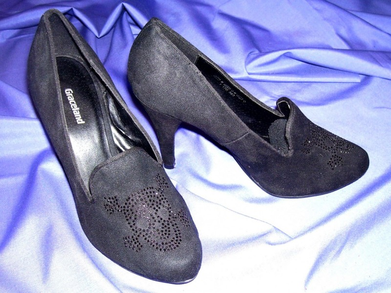 `GRACELAND` cipele br. 38 - stikla 9,5cm