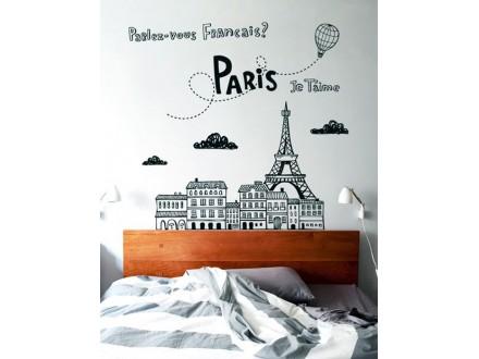 Geco-art dekorativna nalepnica Paris