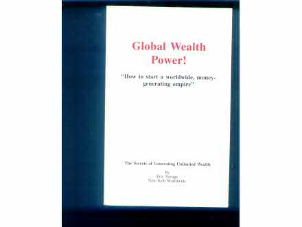 Global wealth power Eric Savage