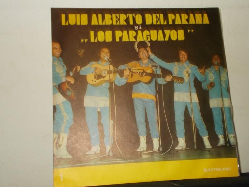 """Luis Alberto Del Parana și Formația """"Los Paraguayos""""*"""