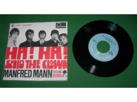 Manfred Mann ‎– Ha! Ha! Said the clown