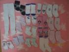 (N202.09) Bele hulahopke i 15 para čarapica