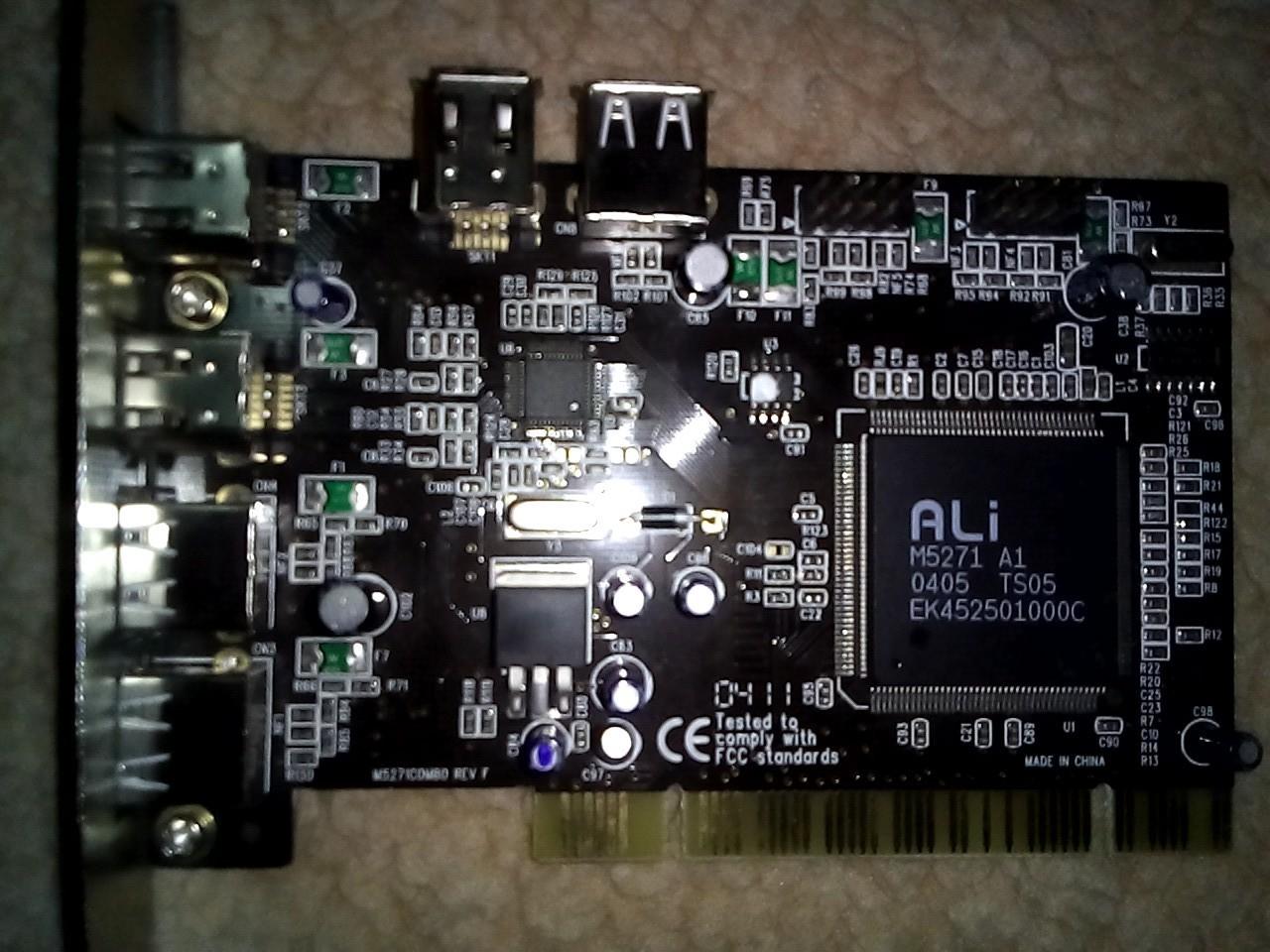 ALI M5271 A1 64BIT DRIVER DOWNLOAD