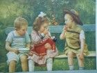 Puppen-mahlzeit-Dolls repast Jos Suess -lutka obrok