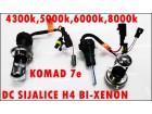 SIJALICA H4 BI-XENON DC;4300k,5000k,6000k,8000k,10000k