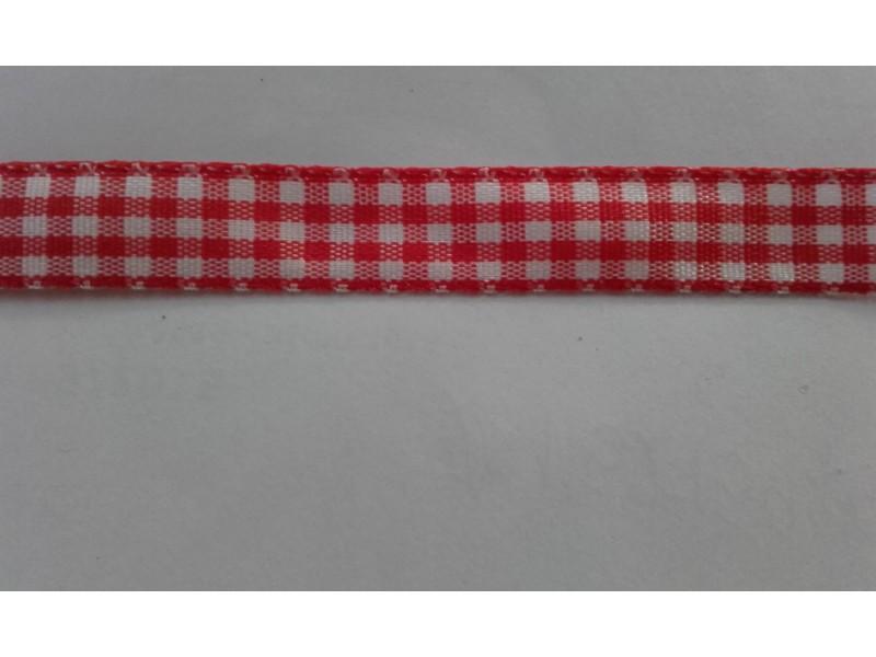 *T292--.karo  traka,crvena, 10 mm/metar