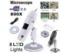 USB mikroskop 2MP 800x