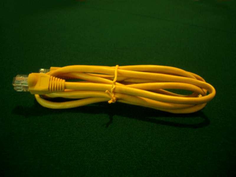 ! UTP LAN mrežni kabl, 1,5 m, žuti, zaštićen