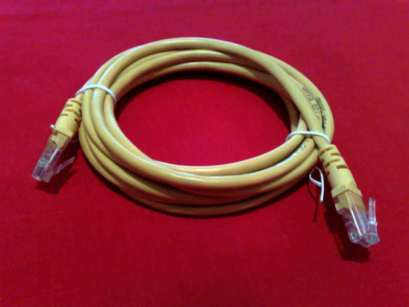 ! UTP LAN mrežni kabl, 3 m, žuti