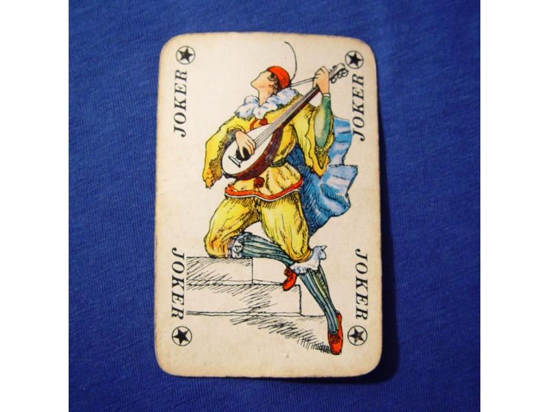 ! džoker karta, svirač mandoline