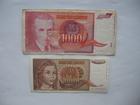 1.000 dinara 1992. i 10.000 dinara 1992. (2 komada)