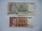 10.000 1992. dinara i 10.000 dinara 1993. (2 komada)