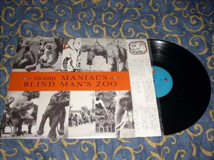 10,000 Maniacs - Blind Man`s Zoo LP