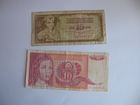 10 dinara 1981. i 1990. SFRJ (2 komada)