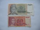 10 dinara 1990. i 10.000 dinara 1993. (2 komada)