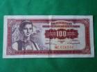 100 DINARA-1955.g.-/NUZ-17-B/