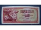 100 DINARA 1965 - UNC
