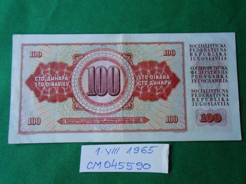 100 DINARA-CM 045590-/NUZ-18-B/