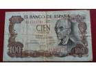 100 Pesetas 1970 Španija