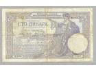 100 dinara 1929 VF