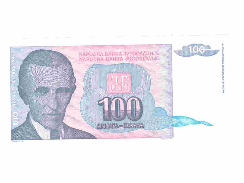100 dinara,SRJ,1994,unc.