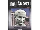 100 ličnosti broj - 23 - Julije Cezar