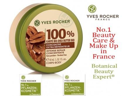 100% organski shea buter za suvu i oštećenu kožu