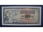 1000 DINARA 1981 - UNC
