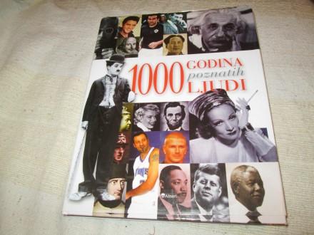 1000 GODINA POZNATIH LJUDI