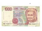 1000 lira,Italija,1990,vf.