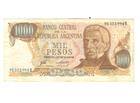 1000 pesos,Argentina,1976/83,vf.