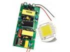 100W High Power LED + 220V Driver Cool White