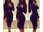 11)  Prelepa plava  haljina (VISE BOJA)