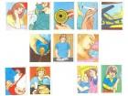 12 sličica `Rođenje deteta` (Bonart)