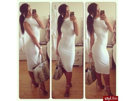 129) Slatka pam.haljina   VIŠE BOJA