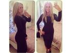 16)  Crna elegantna-klasicna  haljina (VISE BOJA)